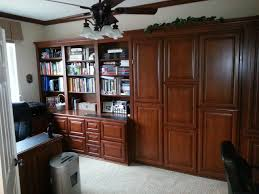 Bedroom Office Combo by Murphy Bed And Office Combo C U0026 L Design Specialists Inc