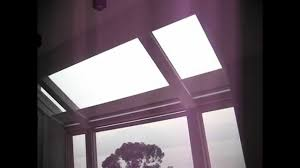 motorized skylight roller blinds youtube