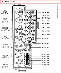1994 jeep grand fuse diagram jeep grand fuse box diagram image details