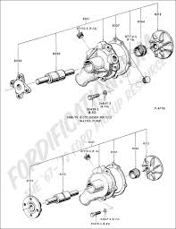 Ford Explorer Water Pump - ford truck technical drawings and schematics section e engine