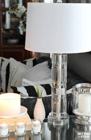 5 tips to decorate accent tables like a pro setting for four