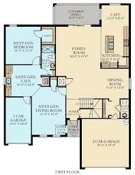 lennar next gen floor plans the oxford new home plan in la morada manor homes by lennar