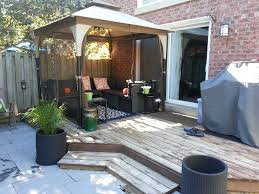 tips choosing for small patio furniture gazebo decoration