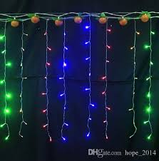 cheap indoor outdoor christmas lights lighting led icicles string