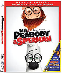 amazon peabody u0026 sherman blu ray 3d blu ray dvd