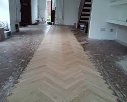Herringbone Laminate Flooring Solid Oak Herringbone Wood Blocks London Stock 70mm X 22mm X