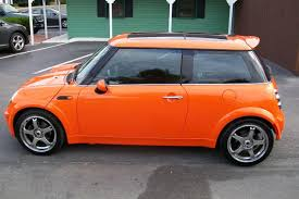 black u0026 neon orange blue minis dryer north american motoring