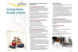 home escape plan plan two ways out during fire prevention week community the