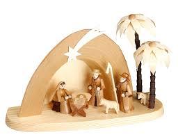 nativity sets nativity set grotto 15 cm 6in by theo lorenz kunsthandwerk