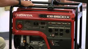 buyer u0027s guide honda generator eb6500x youtube