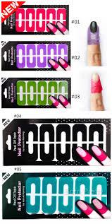 1 59 10pcs sheet peel off tape latex free cuticle guide