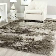 Gray Shag Area Rug Furniture Interesting Shag Area Rugs For Modern Your Living Room