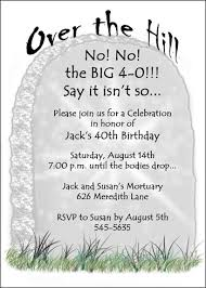 40th birthday invitations for celebrating your 40 birthdays party