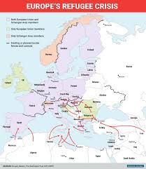 Map Of Syria And Surrounding Countries by Map Of Border Fences And Controls Across Europe Business Insider