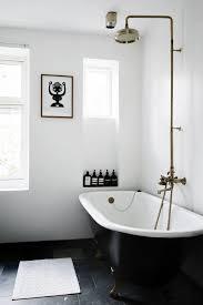 cool black and white bathroom floor tile designs modern bath