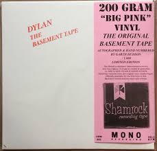 bob dylan basement tapes mono 200g pink vinyl signed rsd2015