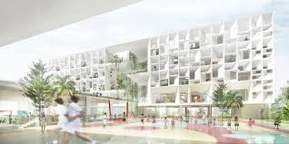 henning larsen architects designs french international in