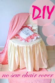 no sew banquet chair covers tutorial with free pattern sew some