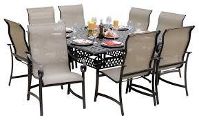 28 8 person outdoor dining table amazonia santa clarita 8