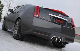 cadillac cts sport coupe corsa cadillac cts v coupe stainless axle back sport exhaust 2011