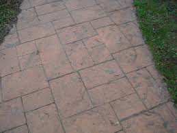 Flagstone Stamped Concrete Pictures by Concrete Contractors In Ellicottville Olean Wellsville Ny