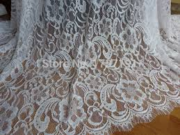aliexpress com buy white embroidered fabric chantilly lace