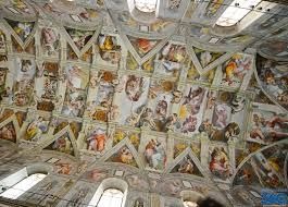 sistine chapel ceiling michelangelo paintings in the sistine chapel