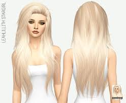 sims 4 hair cc spring4sims leahlilith stargirl long hair for the sims 4
