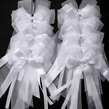wedding bows organza wedding bows and ribbons ebay