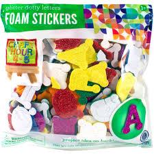 faith glitter foam stickers by horizon usa walmart