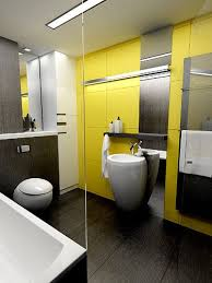 Grey And Yellow Bathroom Accessories by Bright Inspiration The Best Yellow Bathrooms Apartment Geeks