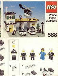 Lego Headquarters Lego Police Headquarters Instructions 588 Police