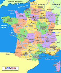 Blank Map Of France by Graphatlas Com France