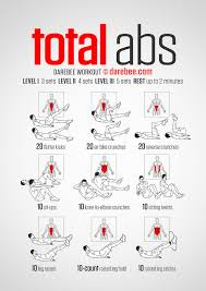 total abs workout best 5 sets no weight each side flutters