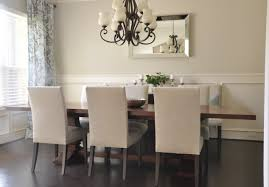 mirror dining room wall mirror placement gorgeous dining room
