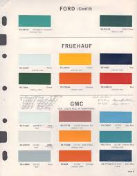 paint chips 1964 ford truck paint pinterest