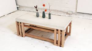 concrete coffee table for sale coffee table homemade modern episode diy concrete wood coffee