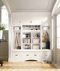 transitional mudroom designs entry farmhouse with wainscoting