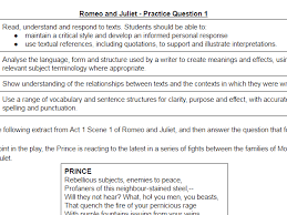 romeo and juliet quote booklet by heulwyn teaching resources tes