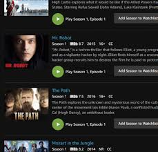 why is there such a tiny selection of tv shows and films on amazon