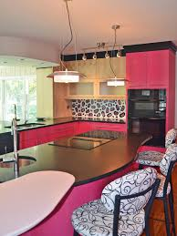 captivating pink kitchen cabinets beautiful home decoration