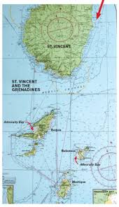 St Lucia Map Getting Off The Beaten Track In The Windward Islands Cruising World