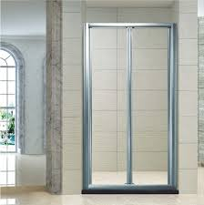 accordion shower doors aluminum folding simple shower enclosure