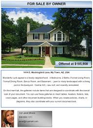 Real Estate Word Templates by Free Examples Of Advertising Flyers Download Free Flyers With Ease