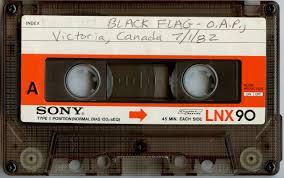 Black Flag Nervous Noise Addiction Ii Black Flag Saccharine Trust O A P Hall