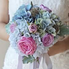 Silk Bridal Bouquet Wedding Bouquet Bridal Bouquet Wedding Flowers Arrangement Rom