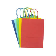 christmas paper bags bright ready to decorate gift bags 5 pack hobbycraft