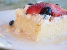 tres leches cake recipe via alton brown copied dessert