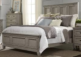 Bedroom Sets With Media Chest Stanley Grayton Grove Driftwood Panel Bedroom Set From Liberty Coleman