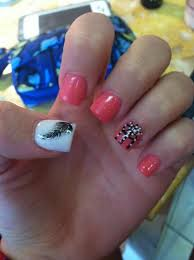 acrylic nails with crosses nail designs with gems pinterest